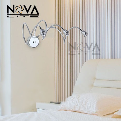 3w Bedside Reading Light Reading Wall Lamp For Hotel