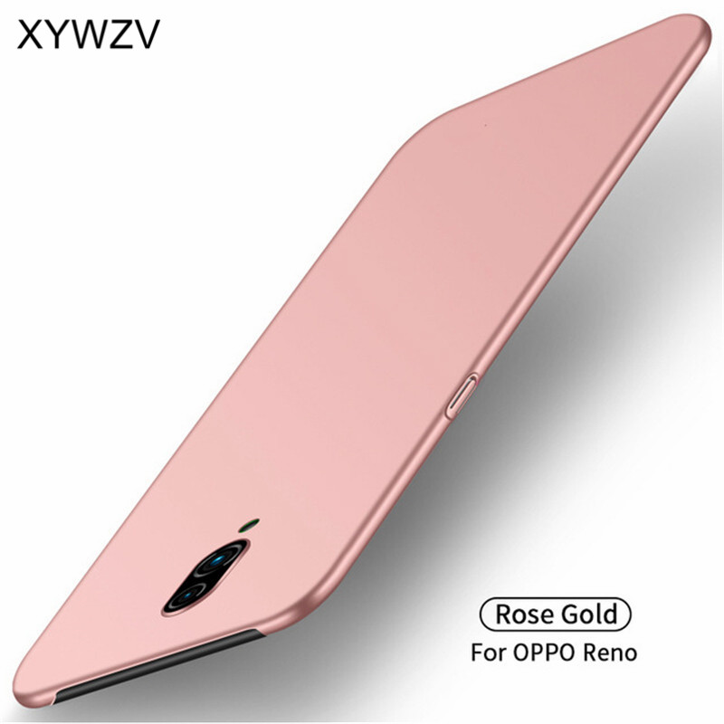 Image 2 - For Oppo Reno Case Shockproof Silm Luxury Ultra Thin Smooth Hard PC Phone Case For Oppo Reno Back Cover For Oppo Reno Fundas-in Fitted Cases from Cellphones & Telecommunications