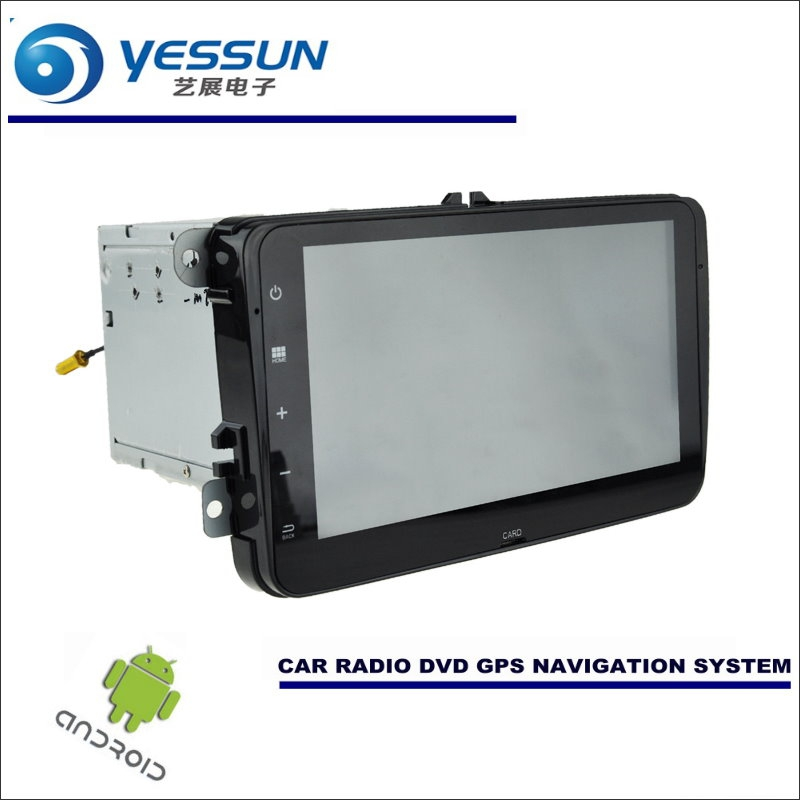 YESSUN Car Android Navigation System For Volkswagen VW Touran / Golf MK5 - Radio Stereo Player GPS Navi BT HD Screen Multimedia