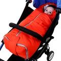 2017 Red Blue winter baby Zipper sleeping bag for stroller thicken cotton envelope soft sleep bag baby girls sleepsacks Newborn
