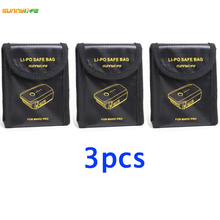 3pcs Lipo Battery Pouch Explosion-proof Protector Case Fireproof blast proof Safe Bag Fiber Storage Box for DJI Mavic PRO Drone