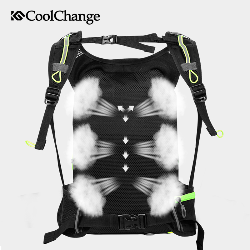 Coolchange 10L Ultralight Waterproof Bike Bag Cycling Backpack Travel MTB Bicycle Bag for Portable Water Bag Bike Accessories in Bicycle Bags Panniers from Sports Entertainment