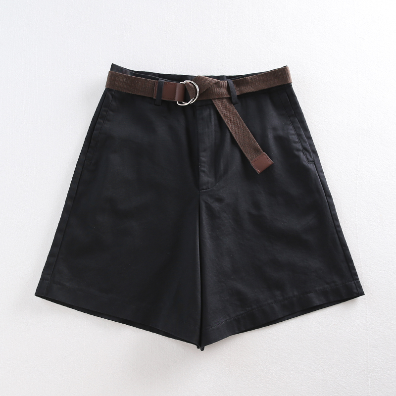Casual Women Shorts A-line High Waist Slim Summer Shorts 22