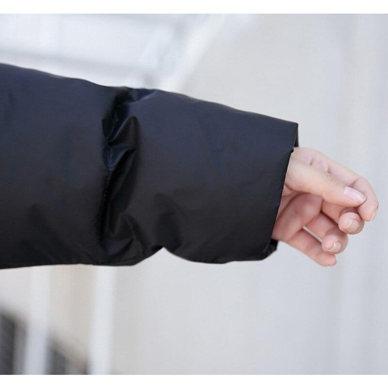 Manteau Noir rouge Chaud À Veste Épais gris Coupe Femmes Pardessus Coréen bleu Bulle Coton Parka Longue Capuche Rembourré Noir vent Plus Taille Gris D'hiver gzgYq