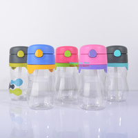 New BPA Free Children S Straw Cup Plastic Cup Leak Proof Baby Water Bottle Water Cup