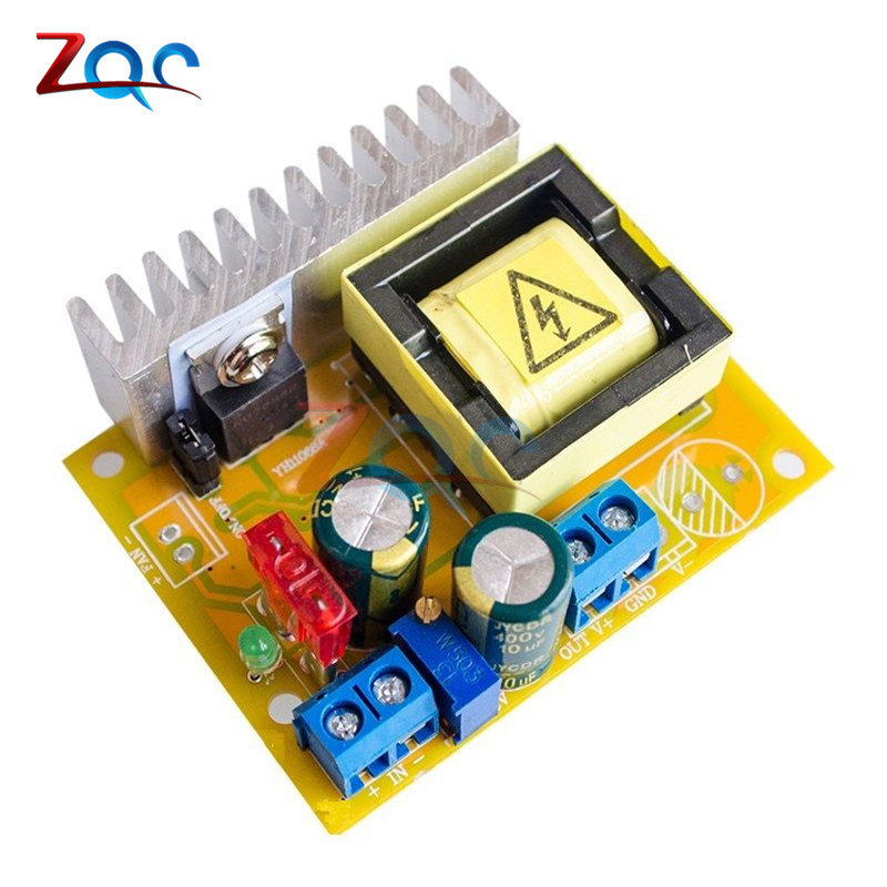DC-DC 8~32V to 45~390V High Voltage Boost Converter ZVS Step up Booster Module