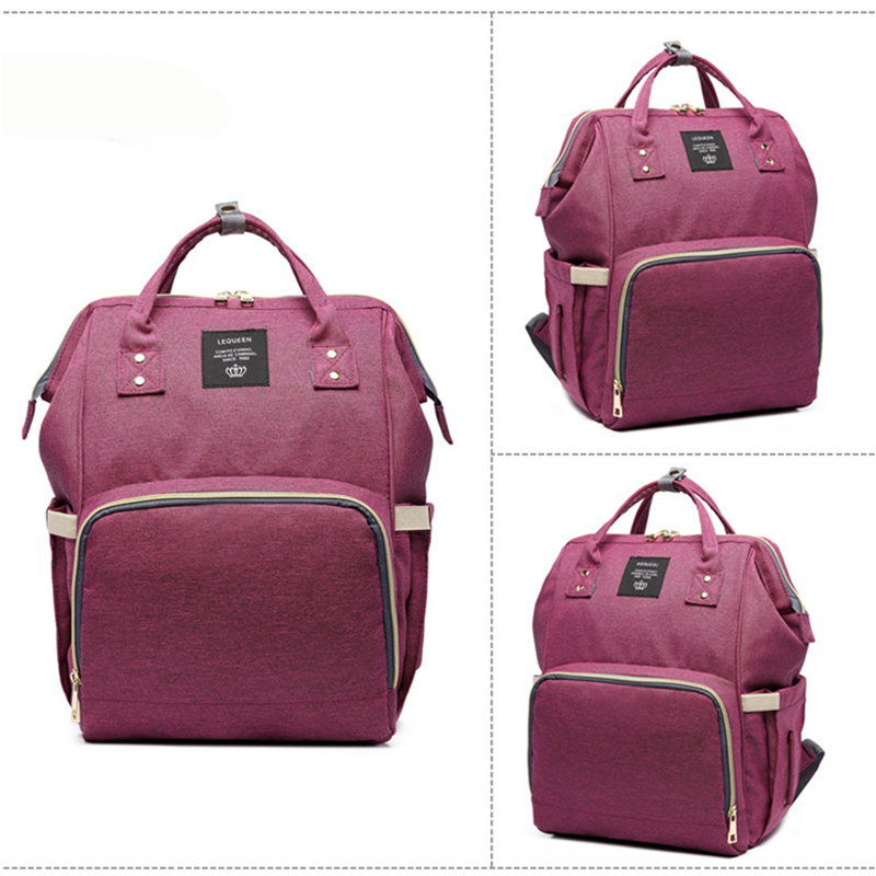 HTB1m3cvXULrK1Rjy1zbq6AenFXaL Mummy Maternity Nappy Bag Stroller bolsa Large Capacity Baby Travel Backpack Mommy Nursing Bag Baby Care Changing Diaper Bag