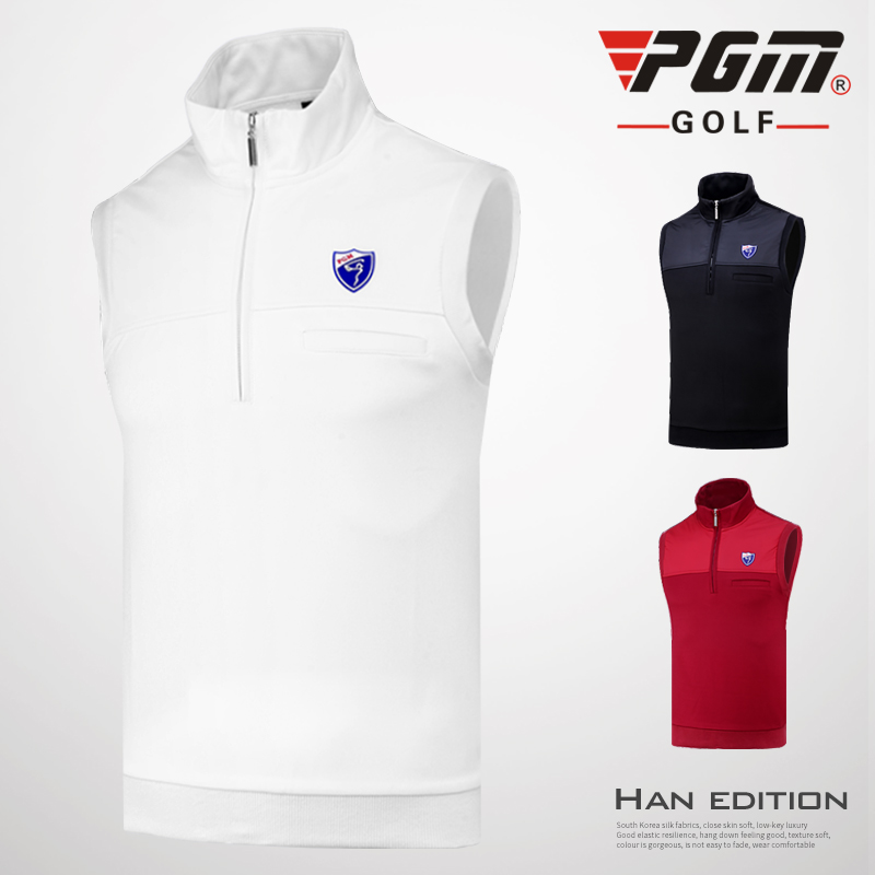 16dca6f09 2018 Pgm Golf Sport Fleece Vest Men Winter Warm Golf Sleeveless Jacket Vest  Men Windproof Waistcoat Golf Apparel D0513-in Golf Shirts from Sports ...