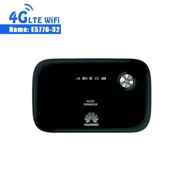 Débloqué 4g Modem Huawei E5776s-32 Lte 4g Wifi Routeur Mobile Hotspot Avec 3000 mah Batterie Mobile WiFi Hotspot routeur