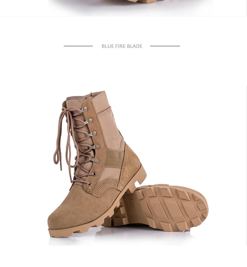 CQB. SWAT 2018 Zomer Combat Tactical Boot Militaire Laarzen Zwart, zand, jungle camouflage kleur Klimmen Wearable Laarzen Ademend