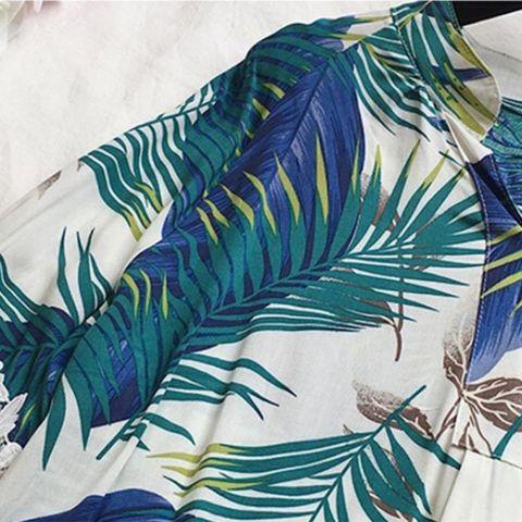 Women Vintage Floral V Neck Blouses Long Sleeve Loose Shirts Lace patchwork Casual Plus size Blusas Femininas European 4XL Islamabad