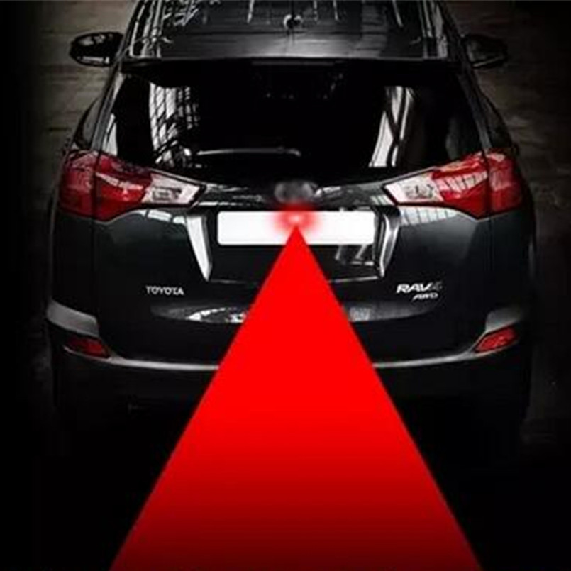 Car Styling Tail Laser Fog Lamp Safety Warning Lights For