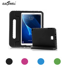 Children Shockproof Case For Samsung Galaxy Tab A 10.1 P580 P585 2016 Pill Case Cowl Pores and skin Stand Deal with Thick EVA Foam Youngsters