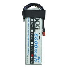 XXL LiPo Battery 5000mah 22.2V 6S 50C MAX 100C for 105mmJ10 akku RC Helicopter models