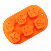Nicole B0142 Silicone Chocolate Mold Halloween Pumpkin Candy Cake Making Mould