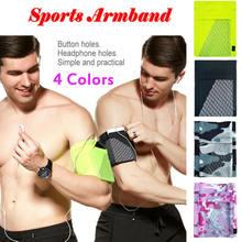 Pulseira de braço esportiva para celular, suporte para celular, corridas, exercício de academia, 3e16