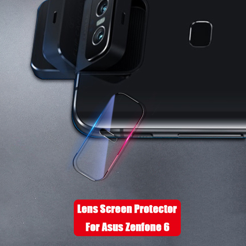 SIANCS Lens Screen Protector Film For Asus Zenfone 6 Anti-Scratch Dedicated HD Back Camera Cover Lens Film For Asus ZS630KL
