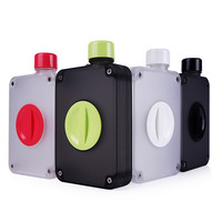 UPSTYLE A5 Taille BPA Livraison En Plastique Sport Bouteille D'eau Potable Directe Bouteille avec Thé Infuseur Amovible, 12.8 oz, PC506