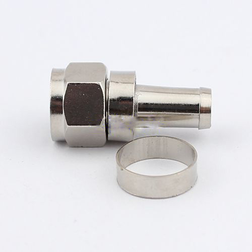 Cable joint British F plug band line lengthened 75-5 CCTV joint alloy processing
