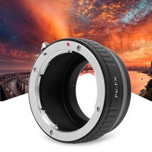 Image 3 - חדש מתכת עדשת הר מתאם טבעת עבור Pentax PK עדשה כדי עבור Fujifilm FX X Pro1 X E1 מצלמה הר מתאם טבעת
