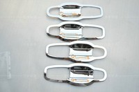 High Quality Car Door Bowl Fit For DODGE JOURNEY 2009 2013 With ABS Chrome 4 Pieces