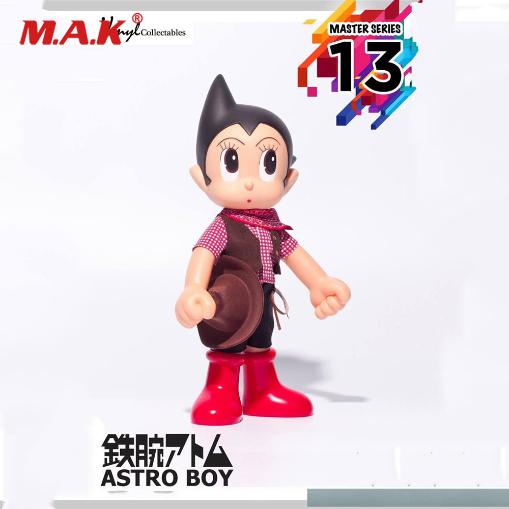 Collectible Gift ZC269 Astro Boy Master Series 13 PVC Figure Model Toy 30CM Tall Cowboy Version for Children Kid Birthday Gift astro boy volume 7