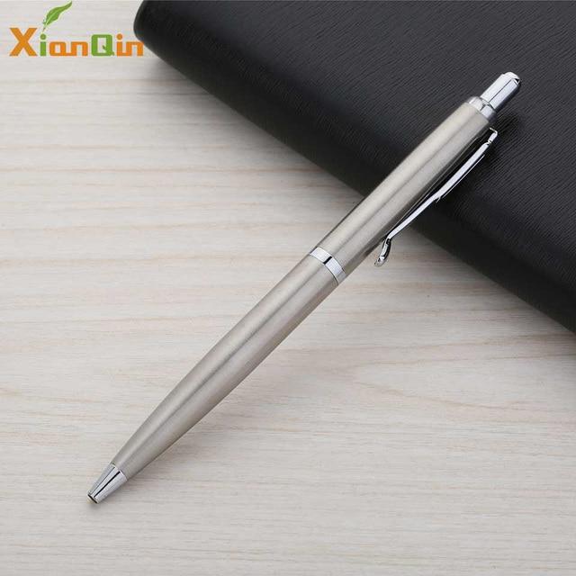 XianQin Metal Luxury Ballpoint Pen 0.7MM Press Refill Pens for Writing Roller Ball Pen Gift Stationery Office School Supplies 1