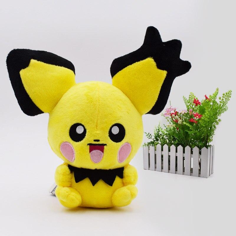 10 pz/set Animali di Peluche Peluche Bambola Pichu Pikachu Farcita Molle del Giocattolo Caldo Grande Regalo Di Compleanno Di Natale Per I Bambini