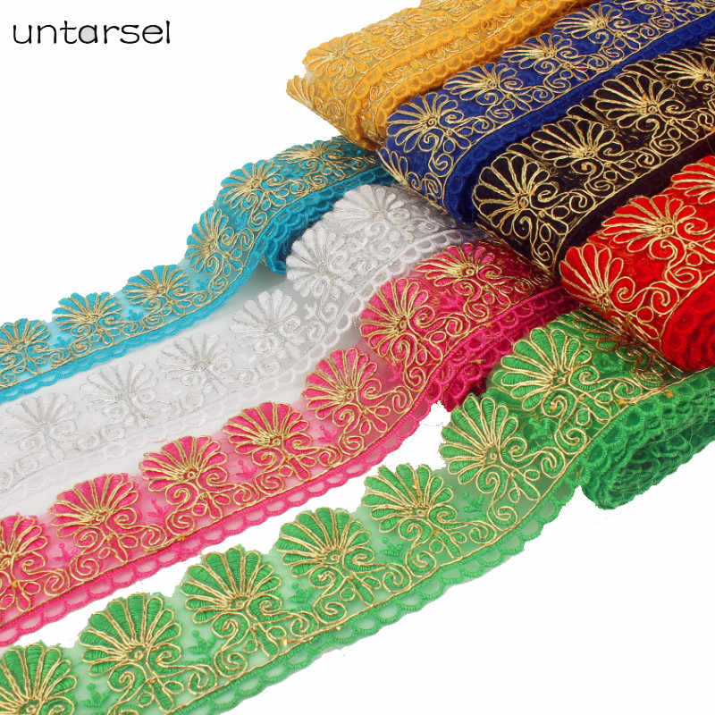 New Arrival 3Yards 6cm Width Lace Fabric DIY Crafts Sewing Decoration Accessories For Garments Tassel Lace Trim Webbing Ribbon