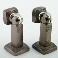 2015 new Fashion europe style zinc alloy Antique door stopper classical door stops strong magnetism Free shipping MD21