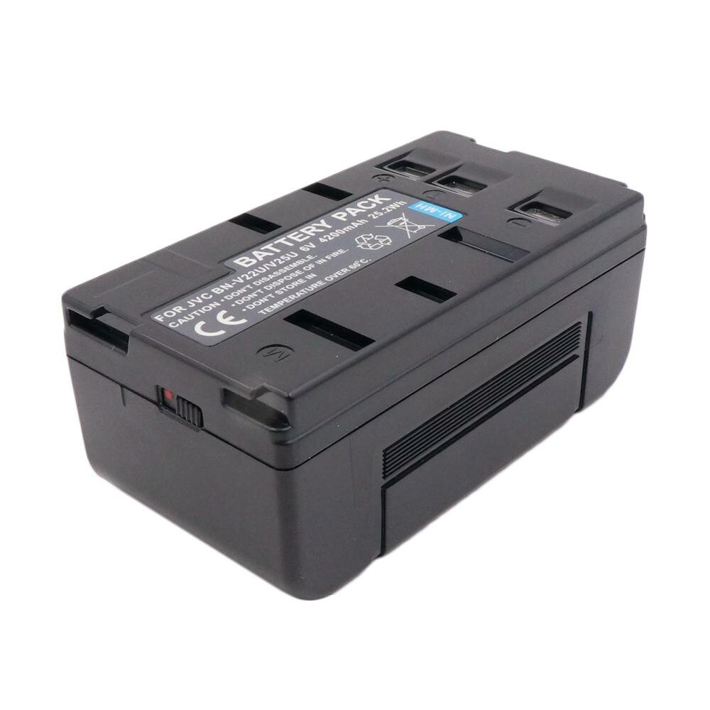 Power Smart 4200mah batería para JVC gr-lt90 gr-m7u gr-s27 gr-sv3 gr-sv7u gr-sx19