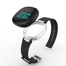 Многофункциональный Водонепроницаемый E08 Смарт Браслет Спорт Фитнес часы браслет для Android и IOS с модным дизайном