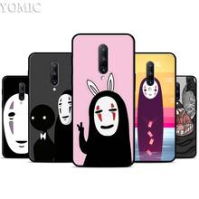 Spirited Away Cartoon Faceless man Silicone Case for Oneplus 7 7Pro 5T 6 6T Black Soft Case for Oneplus 7 7 Pro TPU Phone Cover