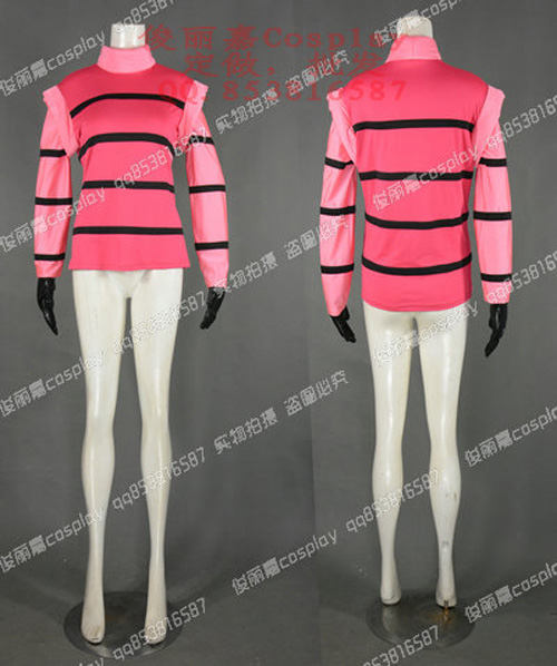 The Nightmare Begins Irken Invader Zim Pink Outfit Game Cosplay Costume J001