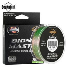 SeaKnight BIONIC MASTER 150M Nylon Fishing Line Smooth Nylon Line Monofilament Mono Line 2-25LB Fishing Line Saltwater Fishing