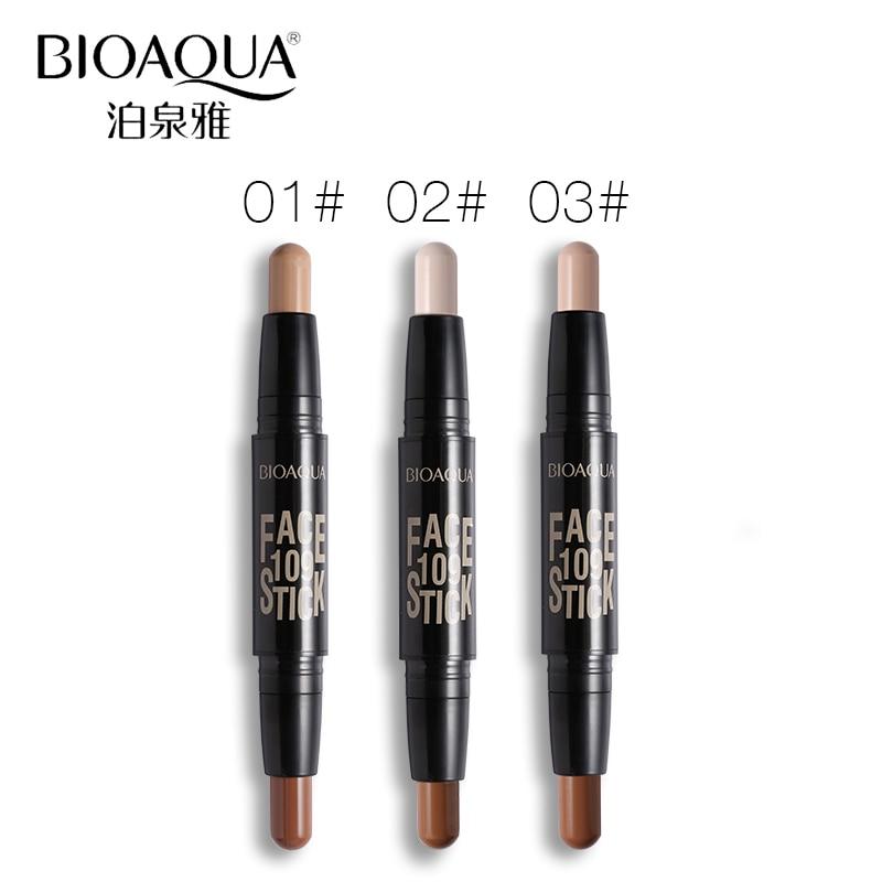 BIOAQUA Märke 2 I 1 Bronzer Highlighter Stick 3D Ansikts Makeup - Smink - Foto 4
