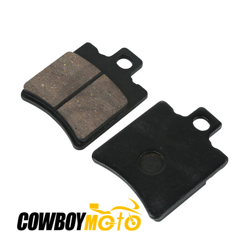 Motorcycle Front Brake Pads For <font><b>Honda</b></font> <font><b>SH</b></font> <font><b>50</b></font> T Fifty / Scoopy W / X / Y / 1 1997-2003, <font><b>SH</b></font> 100 T / W / X / Y / 1 Scoopy 1996-2001 image