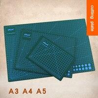 Wysokiej jakości 1 PC Do Cięcia PCV Modelarstwo Pad Deska Do Krojenia rzeźba Patchwork Narzędzia Handmade Diy Akcesoria Gliny Podkład A3 A4 A5