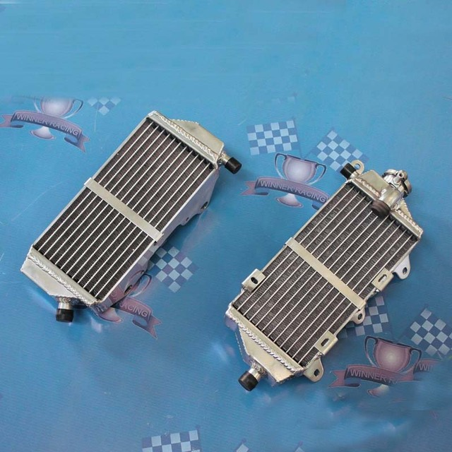 Jungle Army BRACED RIGHT+LEFT aluminum radiator FIT For Yamaha WR250F/YZ250FX WR 250 F 2015-2016