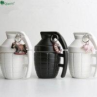 QianYi Mugs Cups And Mugs Creative Grenade Coffee Mugs Practical Water Cup Fun Grenade Bombs Ceramic