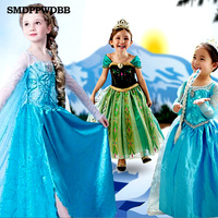 Girl Princess Dress Gown Carnival Costumes For Girls Child Deguisement New Year Dress For Girls Baby