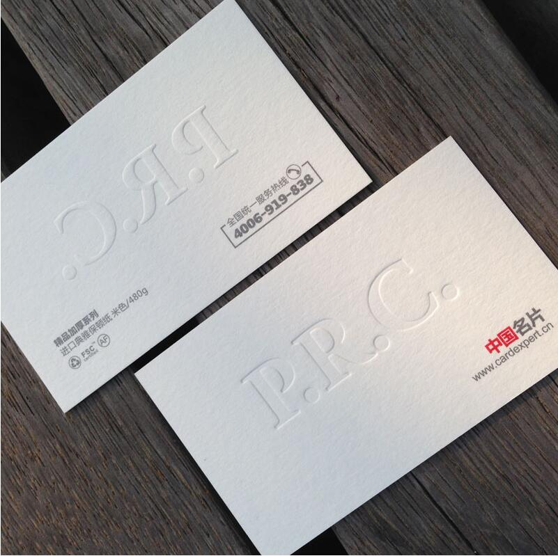 Letterpress 600gsm business cards custom silver golden foil thick letterpress 600gsm business cards custom silver golden foil thick paper edge colour free shipping in business cards from office school supplies on colourmoves