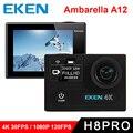 "Оригинал Экен H8 PRO Ultra HD Действий Камеры с Ambarella A12 чип 2.0 ""Экран 4 К/30fps 1080 P/120fps идти h8pro Камера спорта pro"