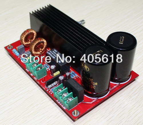 TDA8954 210W+210W Stereo Amp Digital Class D Amplifier Board with Speaker Protection AND 2PCS NOVER 10000UF/50V CAPS 5 pcs pam8406 digital amplifier board with volume potentiometer 5wx2 stereo