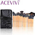 Acevivi Brand New Professional 32pcs Soft Makeup Brush Set Beacuty Cosmetic Tool for Eyeshadow Lip Brush Kit With Pouch U2