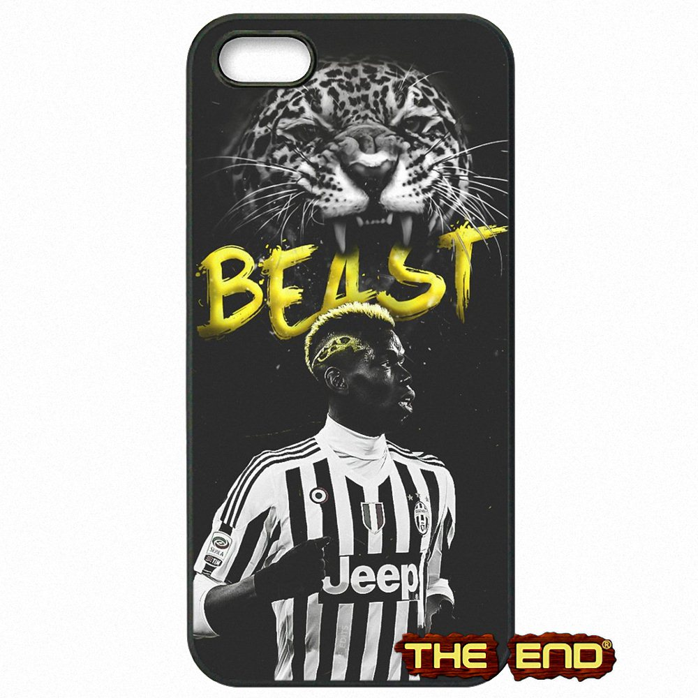 Paul Pogba Wallpaper Juventus Star Cell Phone Case For Iphone X 4 4s