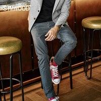 SIMWOOD Brand Pants Men 2017 New Autumn Casual Pants Men Long Trousers Fashion Slim Fit Plus