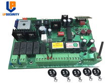 تيار مستمر 24 فولت التلقائي المزدوج بوابة متأرجحة لوحة تحكم con 4 أجهزة الإرسال