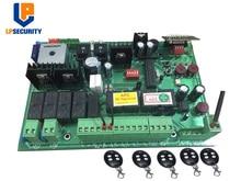 DC 24V automatische dual schaukel tor control board con 4 sender