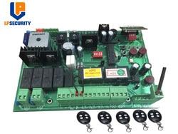 Dc 24V Automatische Dual Swing Gate Control Board Con 4 Zenders